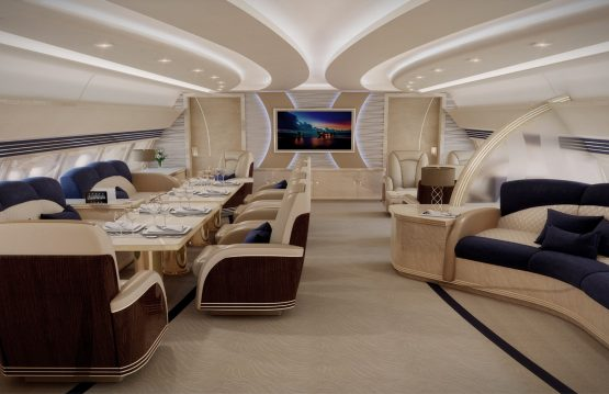 Aircraft Interior Design, Private Jet Design, VIP Aircraft